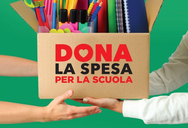 TORINO SUD - Torna «Dona la Spesa Scuola», la raccolta di materiali scolastici per le famiglie in difficoltà