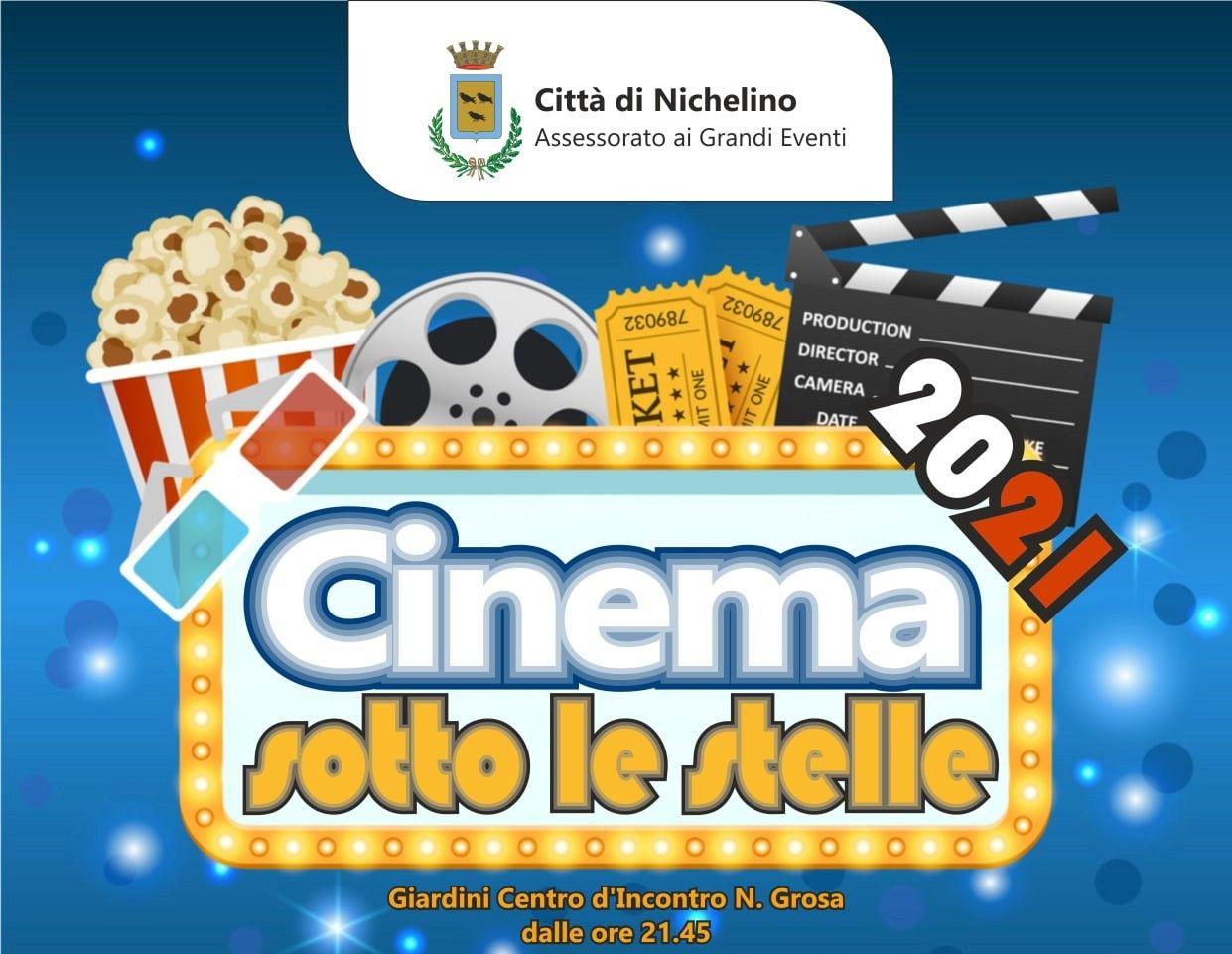 NICHELINO - Torna «Cinema sotto le stelle» al Centro Grosa