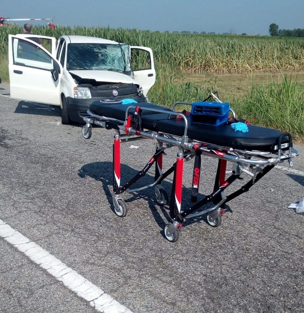 CARIGNANO - Una rotatoria sulla provinciale 122 per ridurre il rischio incidenti